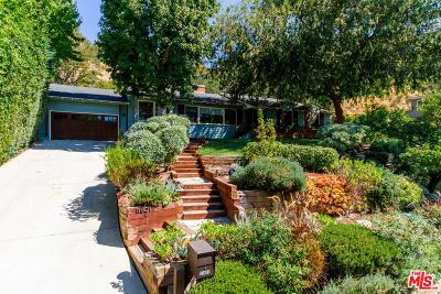 Studio City Single Family Home For Sale: 11801 Laurel Hills Road
