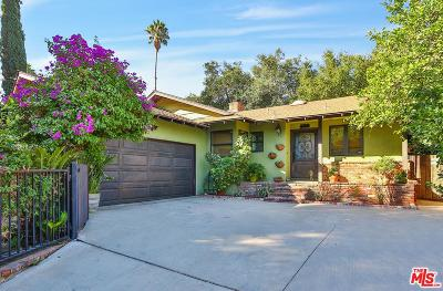 Woodland Hills Single Family Home For Sale: 4609 Santa Lucia Drive