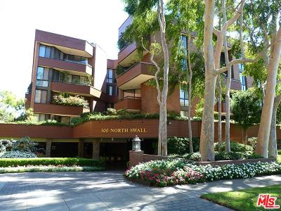 Beverly Hills Condo/Townhouse For Sale: 300 North Swall Drive #257