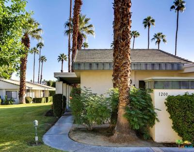 Palm Springs Condo/Townhouse For Sale: 1200 Antigua Circle