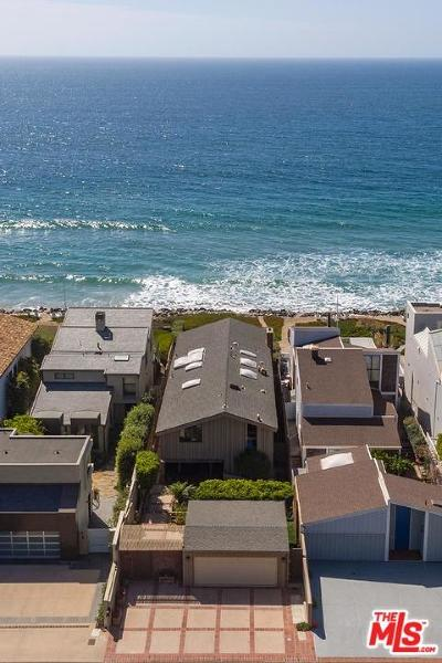 Malibu Single Family Home For Sale: 31048 Broad Beach Road