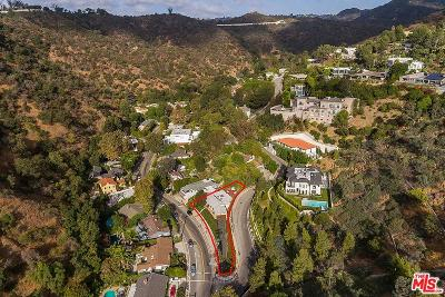 Beverly Hills Single Family Home For Sale: 1550 Benedict Canyon Drive