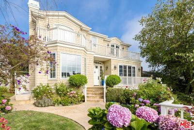 Pacific Palisades Single Family Home For Sale: 1120 Monument Street