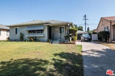 Inglewood Single Family Home For Sale: 11712 Christopher Avenue
