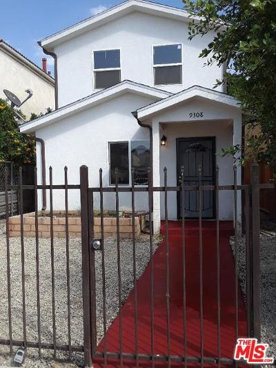 Los Angeles Single Family Home For Sale: 9308 San Pedro