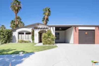 Palm Springs Rental For Rent: 4040 East Mesquite Avenue