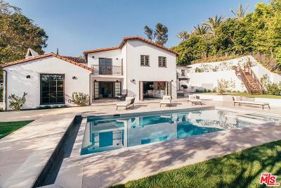 Beverly Hills Single Family Home For Sale: 1118 Tower Road