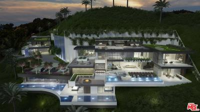 Sunset Strip - Hollywood Hills West (C03) Single Family Home For Sale: 2004 Sunset Plaza Drive