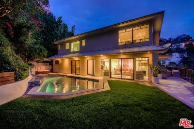 Sunset Strip - Hollywood Hills West (C03) Single Family Home For Sale: 1527 Sunset Plaza Drive