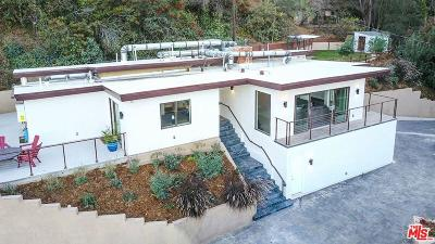 Sunset Strip - Hollywood Hills West (C03) Single Family Home For Sale: 3708 Broadlawn Drive