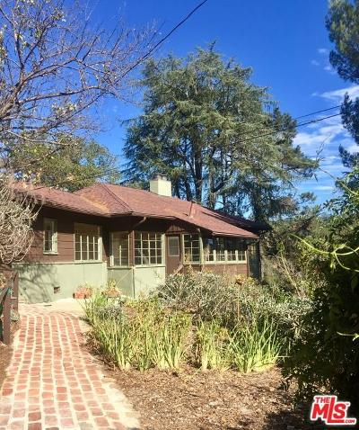 Topanga Single Family Home For Sale: 143 Old Church Road