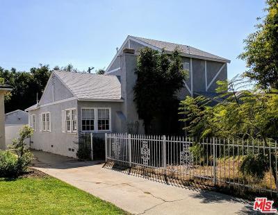 Single Family Home For Sale: 12524 Woodbine Street