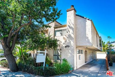 West Hollywood Condo/Townhouse For Sale: 873 North West Knoll Drive #2