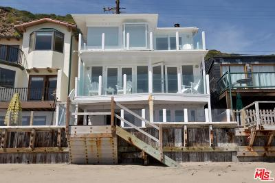 Malibu Single Family Home For Sale: 20828 Pacific Coast Highway