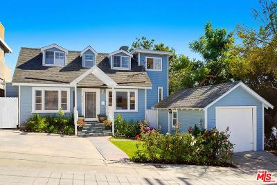 Santa Monica Single Family Home For Sale: 816 Wilson Place