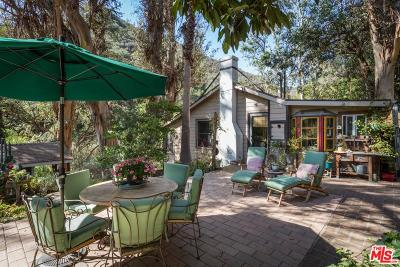 Topanga Single Family Home For Sale: 954 Old Topanga Canyon Road