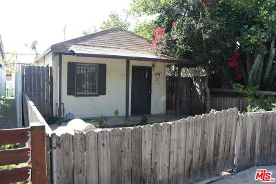 Single Family Home For Sale: 3925 South Centinela Avenue