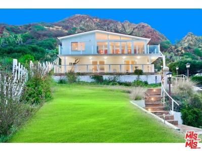 Malibu CA Single Family Home For Sale: $2,499,000