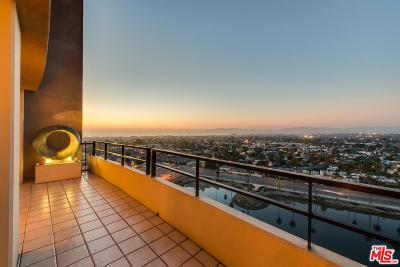 Los Angeles County Condo/Townhouse For Sale: 4265 Marina City Drive #PH11