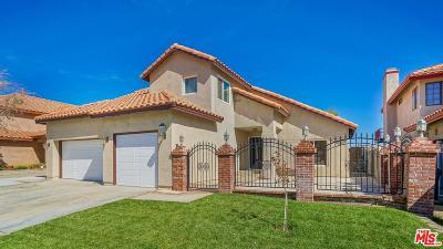 Palmdale Single Family Home For Sale: 38156 San Mateo Avenue