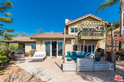 Malibu Single Family Home For Sale: 3500 Decker Canyon Road