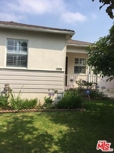 Single Family Home For Sale: 12445 Matteson Avenue