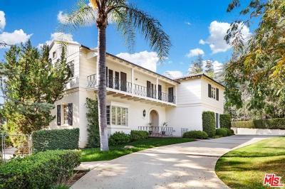 La Canada Flintridge Single Family Home For Sale: 5045 Alta Canyada Road