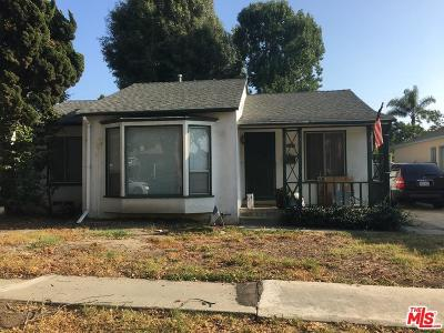 Culver City Single Family Home For Sale: 5322 Kalein Drive