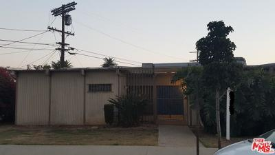Los Angeles Single Family Home For Sale: 2332 Wellington Road