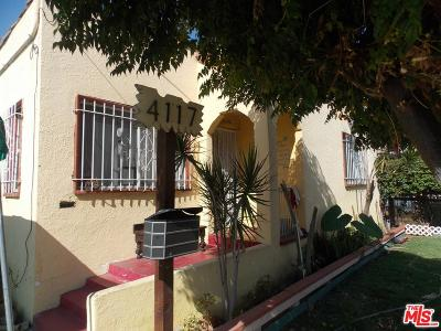 Los Angeles Single Family Home For Sale: 4117 Zamora Street