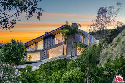 Sunset Strip - Hollywood Hills West (C03) Single Family Home For Sale: 1724 Viewmont Drive