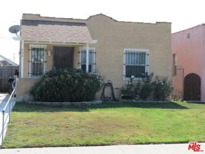 Los Angeles Single Family Home For Sale: 552 West 106th Street