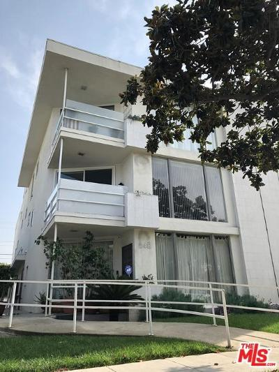 Beverly Hills Condo/Townhouse Closed: 248 South Doheny Drive #4