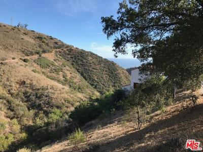 Malibu Residential Lots & Land For Sale