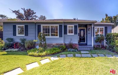Sherman Oaks Single Family Home For Sale: 4911 Sunnyslope Avenue