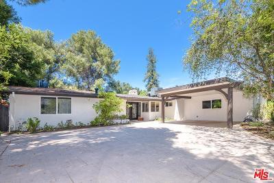 Sherman Oaks Single Family Home For Sale: 16047 Meadowcrest Road