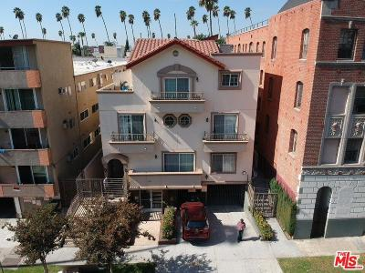 Los Angeles Condo/Townhouse For Sale: 333 South Manhattan Place #6
