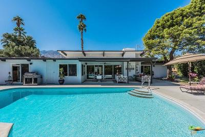 Palm Springs Single Family Home For Sale: 294 North Sunset Way