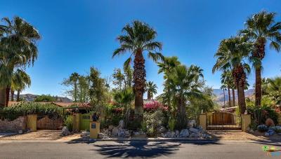 Palm Springs Single Family Home For Sale: 285 East Palo Verde Avenue