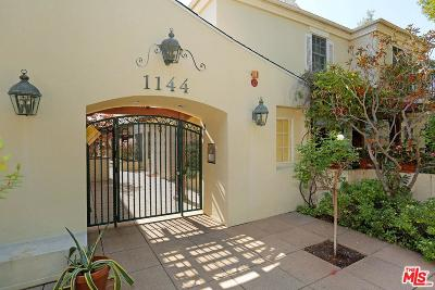 Los Angeles County Condo/Townhouse For Sale: 1144 Yale Street #4