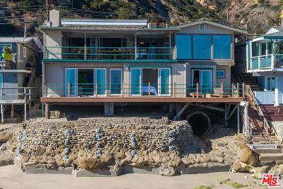 Malibu Single Family Home For Sale: 19912 Pacific Coast Highway