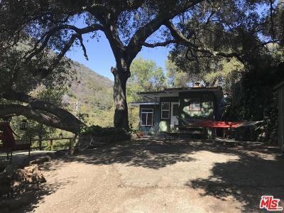 Topanga Single Family Home For Sale: 622 North Topanga Canyon
