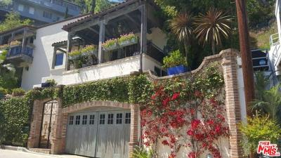 Sunset Strip - Hollywood Hills West (C03) Single Family Home For Sale: 8623 Franklin Avenue