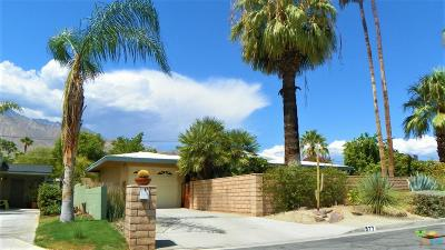 Palm Springs Single Family Home For Sale: 577 North Calle Marcus