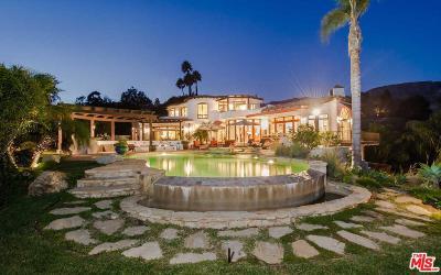 Malibu Single Family Home For Sale: 22576 Carbon Mesa Road