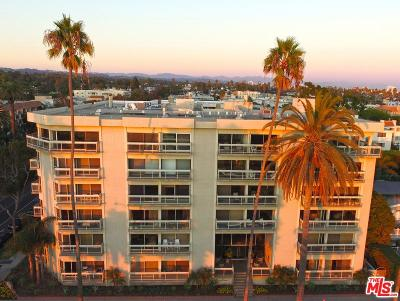 Santa Monica Condo/Townhouse For Sale: 801 Ocean Avenue #602