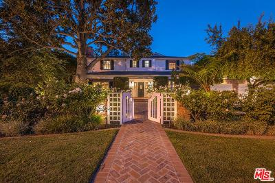 Toluca Lake Single Family Home For Sale: 10433 Kling Street