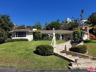 Burbank Single Family Home For Sale: 112 South Sunset Canyon Drive