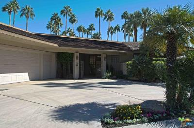 Rancho Mirage Single Family Home For Sale: 138 Columbia Drive