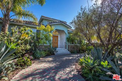 Venice Single Family Home For Sale: 1352 Palms Boulevard